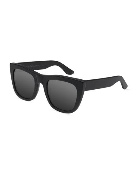 Super by Retrosuperfuture Gals Mirrored Sunglasses, Black