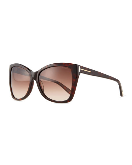 Carli Square Gradient Sunglasses Shiny Havana  sc 1 st  Neiman Marcus & TOM FORD Carli Square Gradient Sunglasses Shiny Havana | Neiman ... markmcfarlin.com