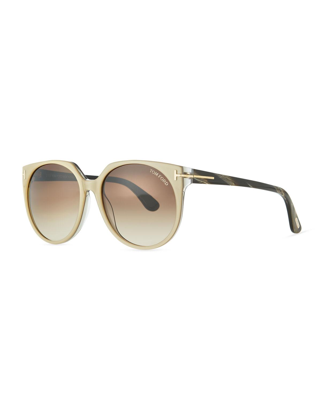 d06ab35c6d957 TOM FORD Agatha Acetate Sunglasses