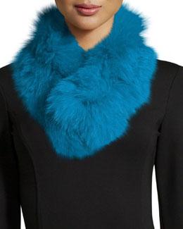 Fur Clip Scarf, Fisher