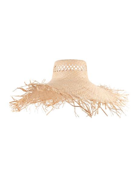 Eugenia Kim Delilah Vented Sun Hat, Natural