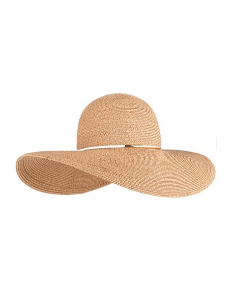 Eugenia Kim Honey Floppy Sun Hat, Camel