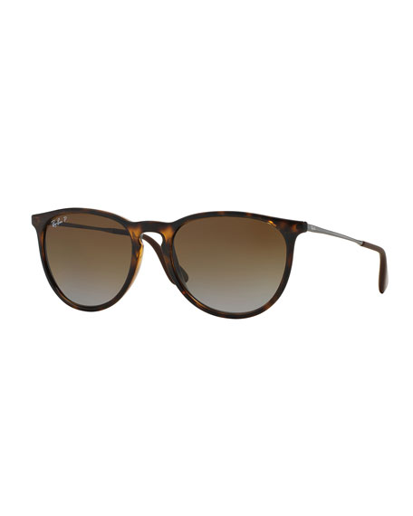 Ray-BanPolarized Square Sunglasses, Havanna