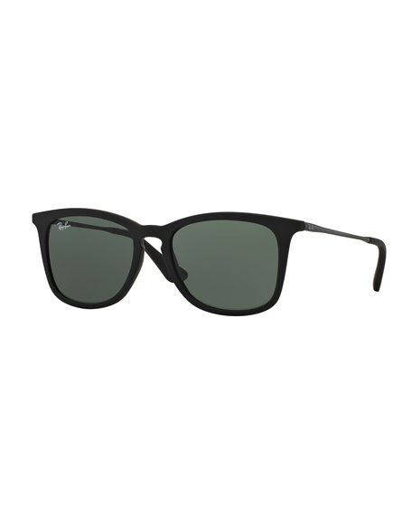 Ray-Ban Junior Junior Wayfarer Sunglasses, Black