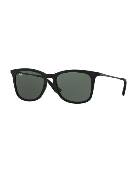 Ray-Ban Junior Wayfarer Sunglasses, Black