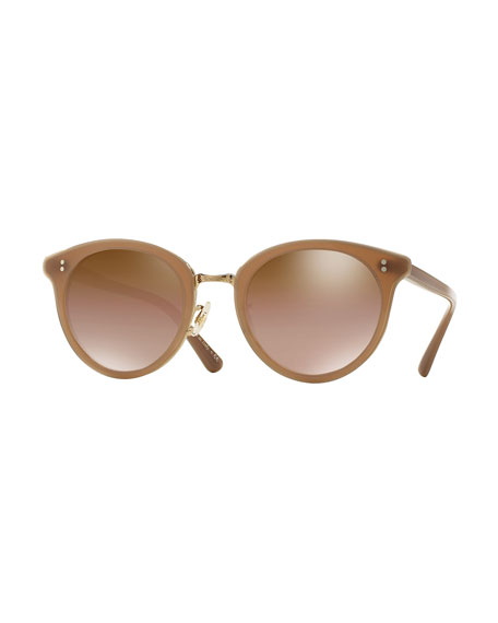 Oliver Peoples Limited Edition Spelman Sunglasses, Linen/Gold