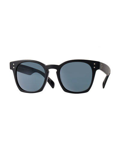 Byredo Photochromic Square Sunglasses, Matte Black