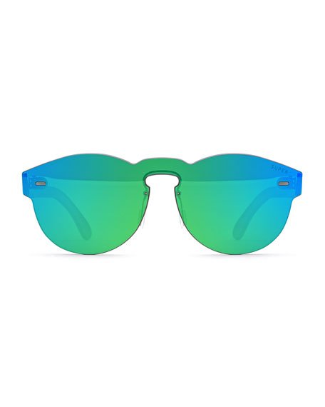 Super by Retrosuperfuture Tuttolente Paloma Sunglasses, Green