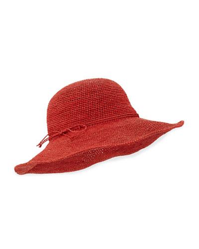 Tahani Crochet Raffia Hat