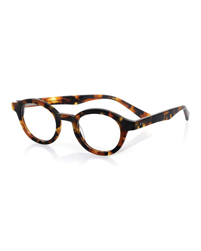 TV Party Acetate Readers, Matte Tortoise