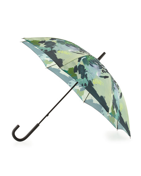 Hunter BootOriginal Botanical-Print Walker Bubble Umbrella, Botanical