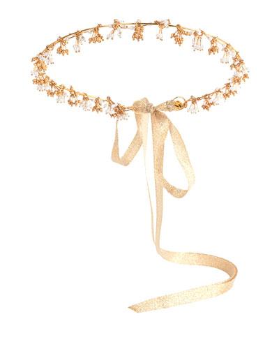 Ariona Tassel Crown, Gold