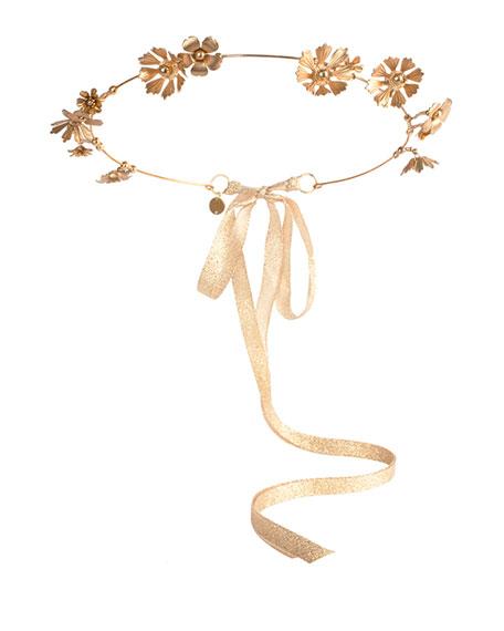 Athena Floral Crown, Golden