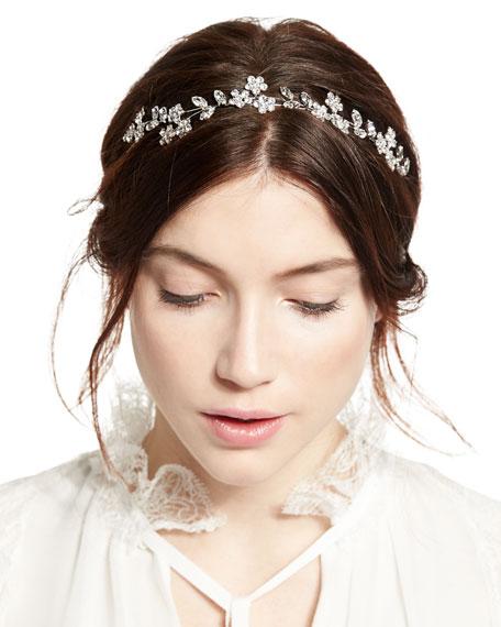 Violet Crystal Bandeau Circlet Headband