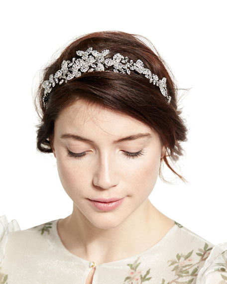 Clementine Crystal Circlet Headband