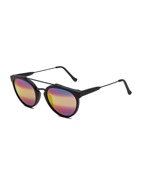 Giaguaro M3 Iridescent Sunglasses, Black
