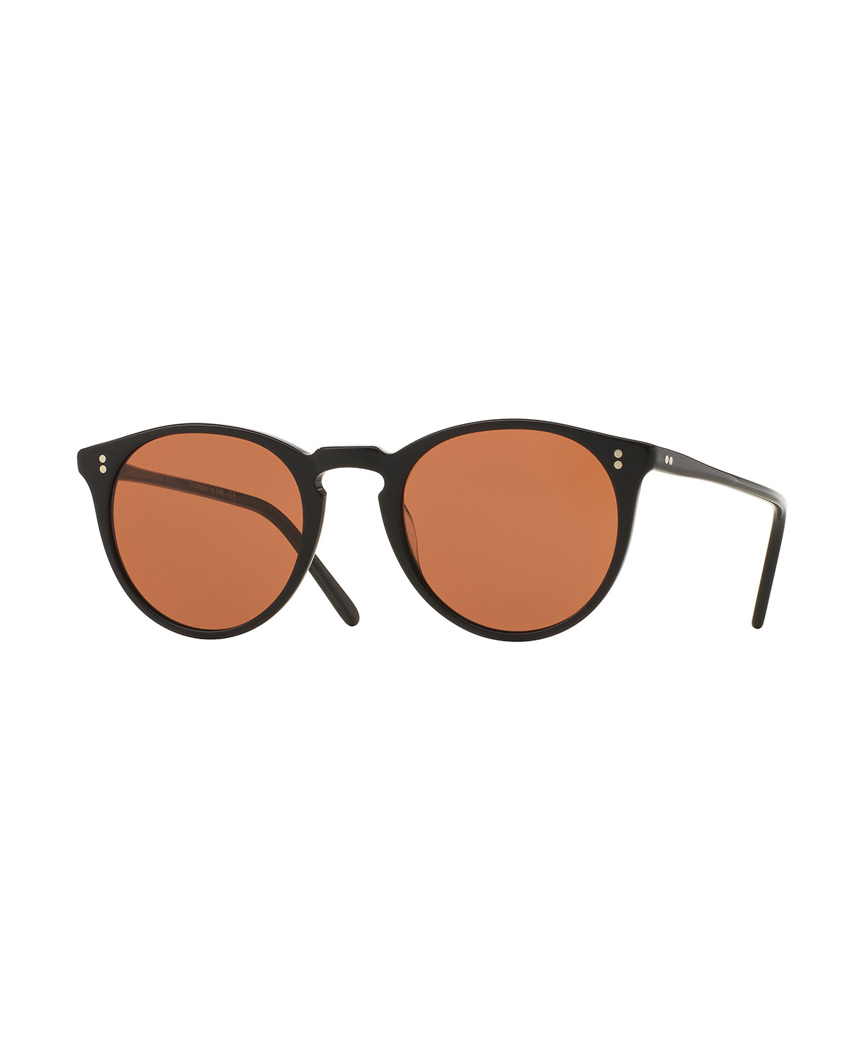 1666113896 Oliver Peoples hot sale b1f4d 1ef7d  OMalley NYC Peaked Round Sunglasses