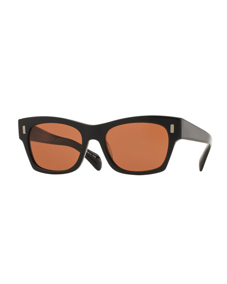 Oliver Peoples The Row 71st Street Square Sunglasses,