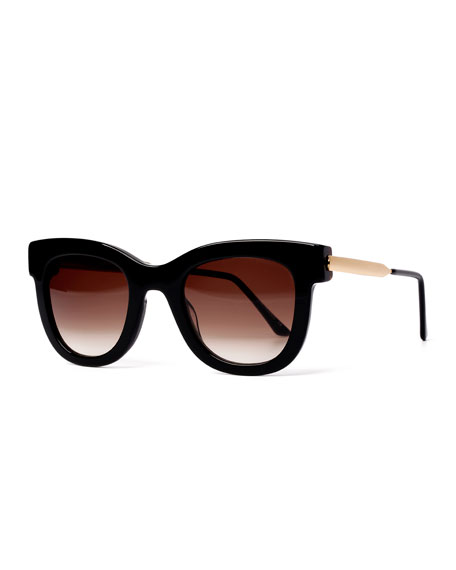 Sexxxy Butterfly Sunglasses, Black