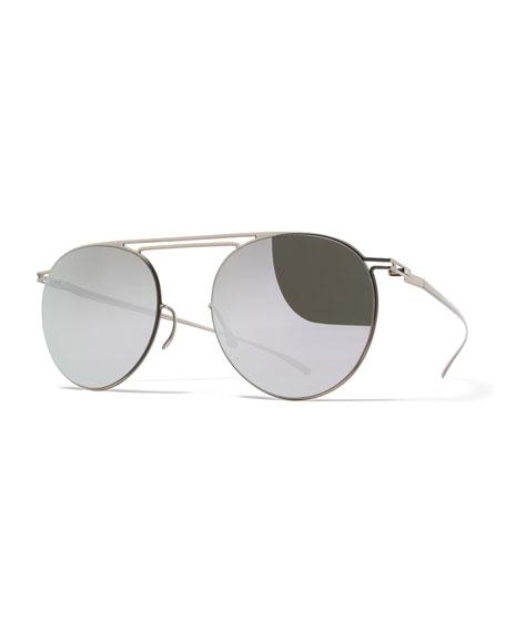 MYKITA + Maison MargielaEssential Floating-Lens Round Sunglasses,