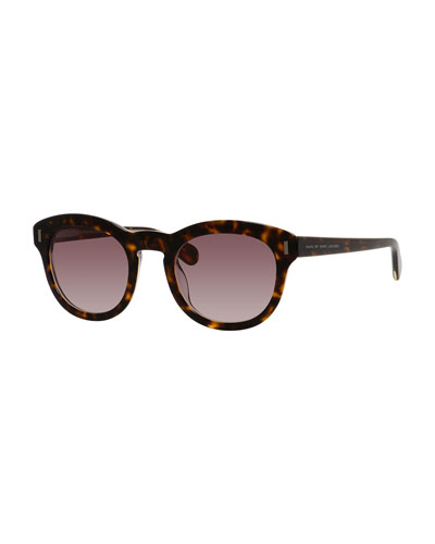 MARC by Marc Jacobs Gradient Rounded Square Sunglasses,
