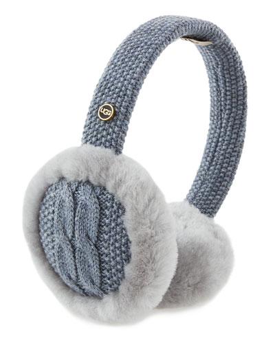 ugg earmuffs knitted