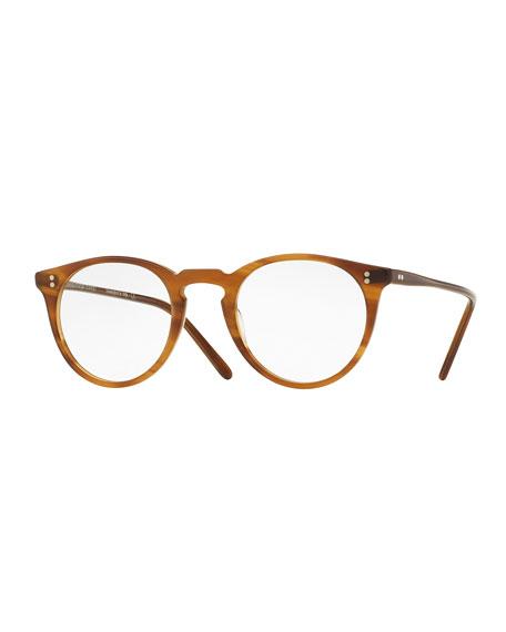 O'Malley Round Optical Frames, Brown