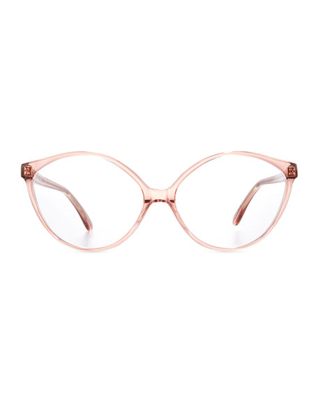 Istanbul Geometric Optical Frames, Rouge