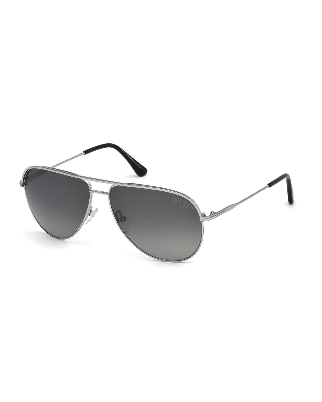 8d2863f9f0cbf TOM FORD Erin Polarized Aviator Sunglasses