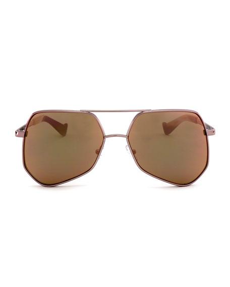 Megalast II Aviator Sunglasses, Pink