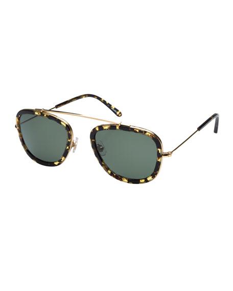 Huey Polarized Aviator Sunglasses, Zulu
