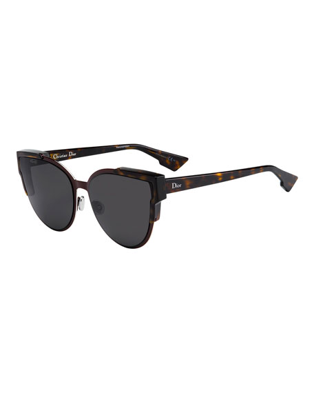 Dior Glasses Frames Cat Eye : Dior Wildly Dior Cat-Eye Sunglasses, Havana/Burgundy