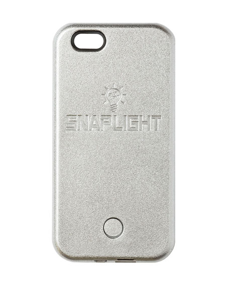 Snaplight iPhone 6/6s Case w/ Power Bank, Silver