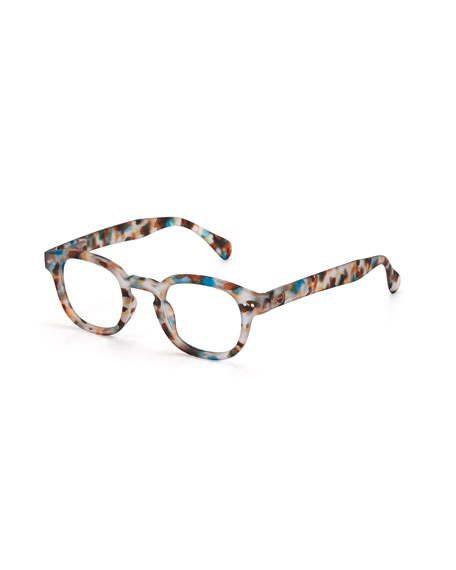 See Concept Blue Light Screen Protective Glasses, Blue/Tortoise
