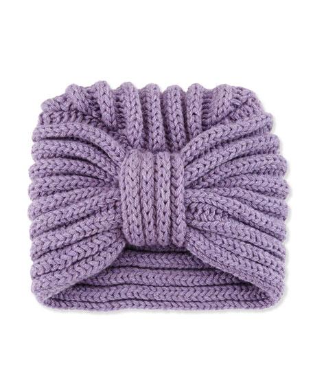 Rosie Sugden Classic Cashmere Head Turban, Lavender