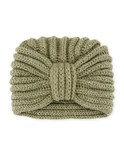 Classic Cashmere Head Turban, Thyme