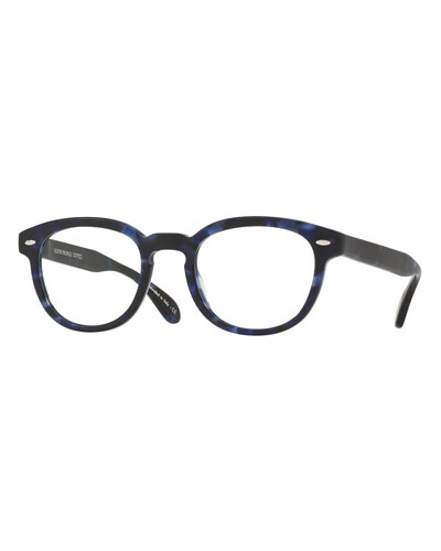 Sheldrake Square Optical Frames, Blue