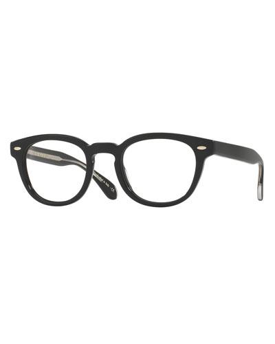 Sheldrake Square Optical Frames, Black
