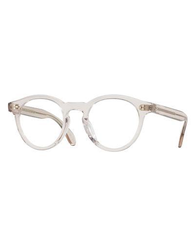 Feldman Round Optical Frames, Gray