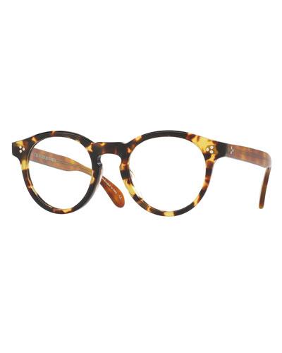 Feldman Round Optical Frames, Tortoise