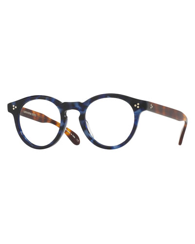 Feldman Round Optical Frames, Blue