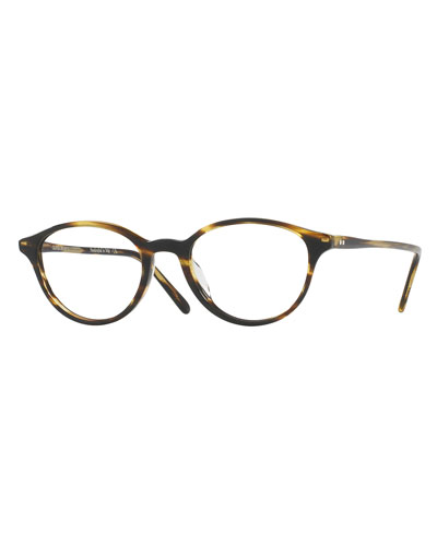 Mareen Round Optical Frames, Light Brown