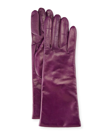 Portolano Napa Leather Gloves, Iris