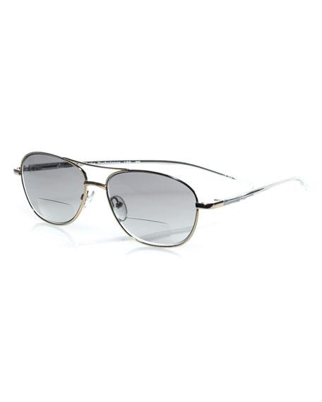 31b78503200 Eyebobs Turbulence Aviator Reader Sunglasses