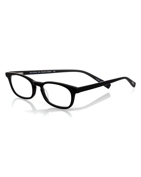 Eyebobs On Board Rectangular Readers, Black