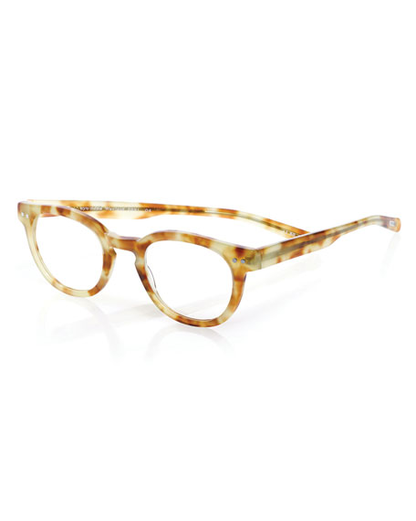 Eyebobs Waylaid Square Readers, Blonde Tortoise