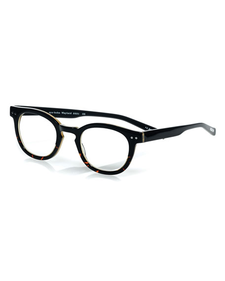 Waylaid Square Readers, Tortoise/Black