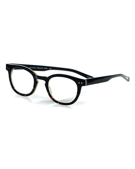 Eyebobs Waylaid Square Readers, Tortoise/Black