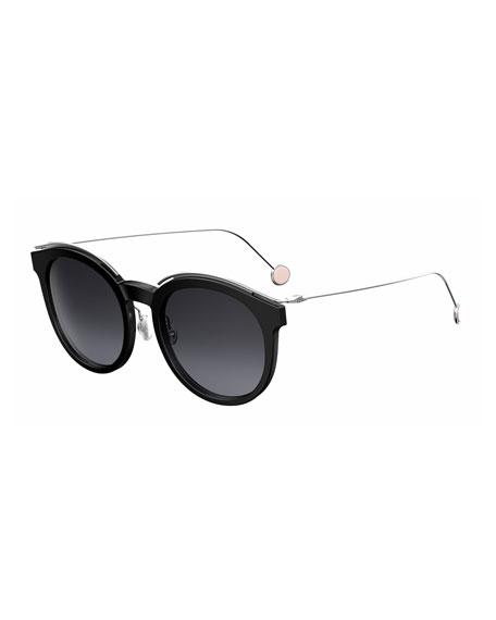 Blossom Square Acetate Sunglasses