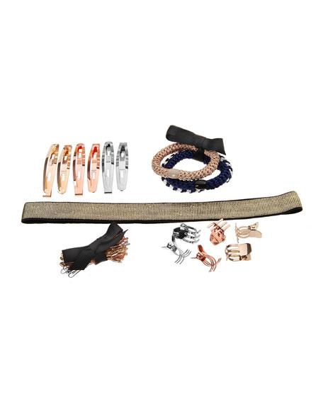 L. Erickson Hair Styling Emergency Kit, Gold Stripes